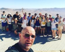 Group Photo in the Negev