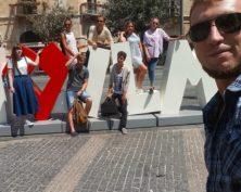 I love Jerusalem Sign
