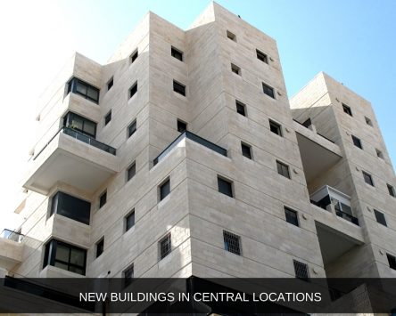 New Buildings in Central Locations